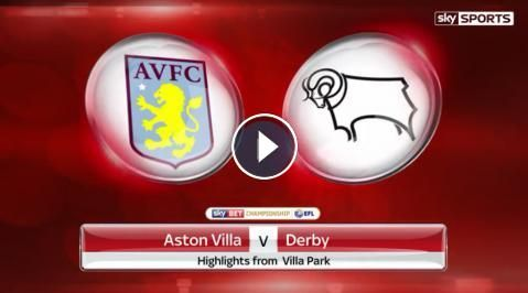 Aston Villa 1 - 0 Derby County Highlights and Goals - Sky Bet Championship - 25 February 2017. Watch full time video highlights of EFL Championship ma...
