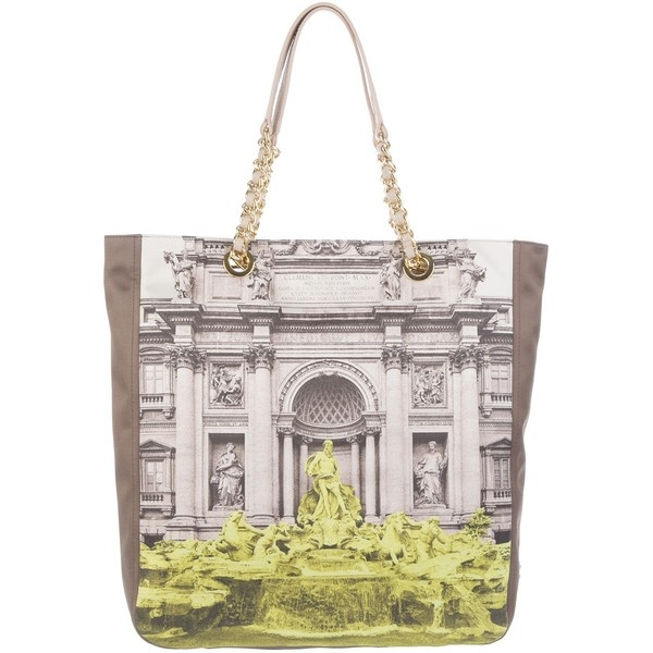 MOSCHINO Chic Printed Tote Bag