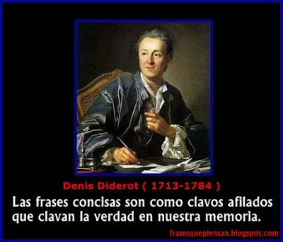 Frases que piensan: Frase con Foto ( Denis Diderot )