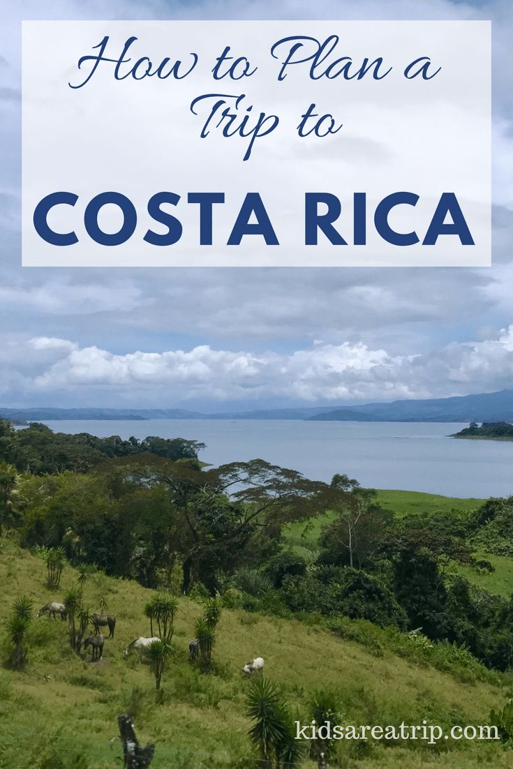 Costa Rica has so many beautiful sights it can be hard to know where to begin. We're sharing tips for exploring and itinerary ideas for a week long trip to Costa Rica. Start planning your adventure! - Kids Are A Trip