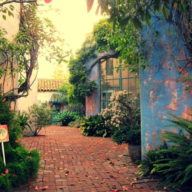 Beautiful architecture is everywhere in Santa Barbara. This spot is just down the street from out office!  Stay with us at www.autocamp.com/sb