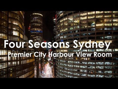 Four Seasons Sydney Review : Premier City Harbour Room - Tips For Travellers