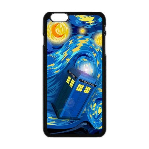 Tardis Doctor Who Starry Night 03 Apple Iphone 6 plus case cover.  #accessories #case #cover #hardcase #hardcover #skin #phonecase #iphonecase #iphone6plus #iphone6pluscase #dezignercase