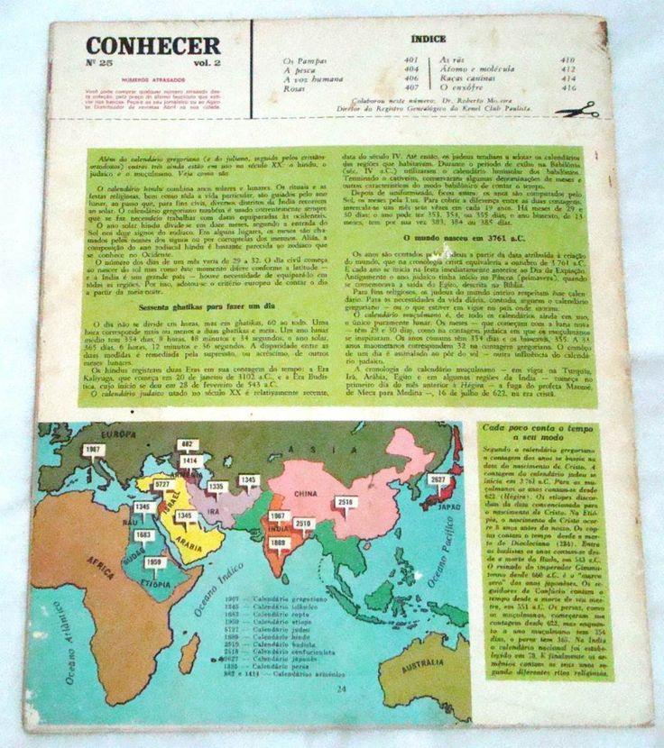 ? enciclopédia conhecer  nº 25 - ano 1969