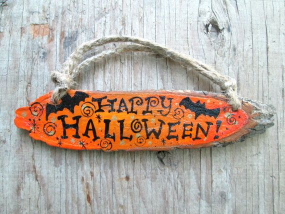 """ Happy Halloween ""  by julie alves on Etsy"