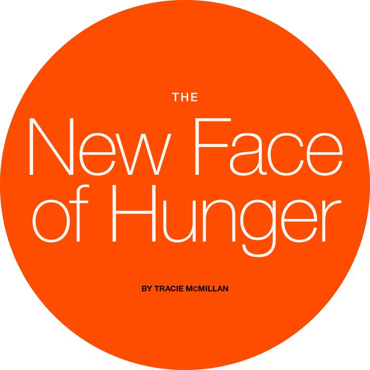 The New Face of Hunger- Millions of working Americans don't know where their next meal is coming from. http://www.nationalgeographic.com/foodfeatures/hunger/