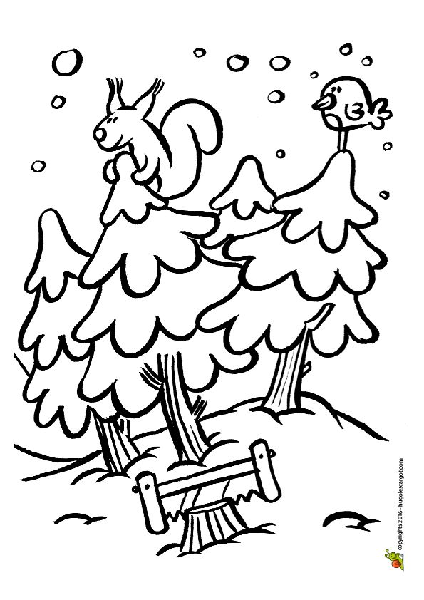 Les 45 meilleures images du tableau coloriages sports d 39 hiver sur pinterest coloriages luge - Dessin sur l hiver ...