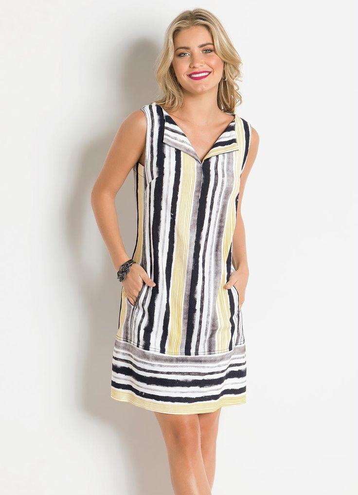 vestido-listrado-branco-de-linho-forum_297906_1000_1.jpg (1000×1384)
