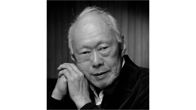 Singapore's first Prime Minister Lee Kuan Yew - Provided by Channel NewsAsia
