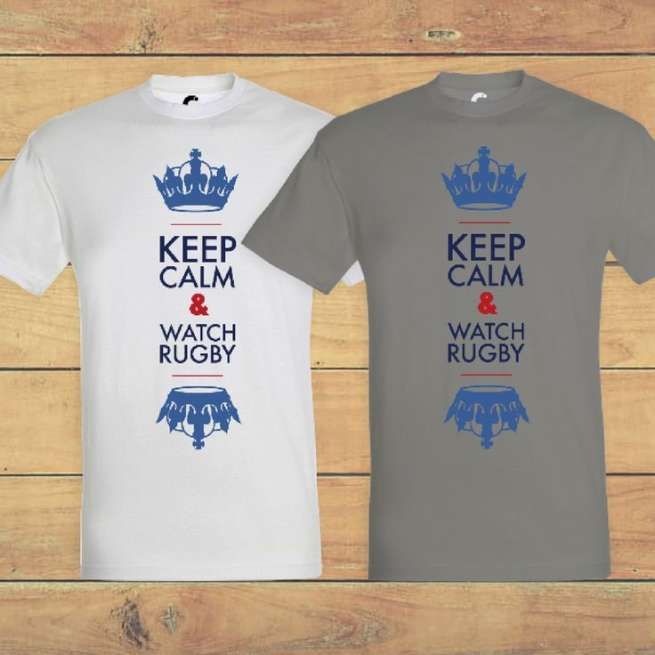 Keep calm and watch rugby  Rugby, six nations, XV de France, Game On, Crunch