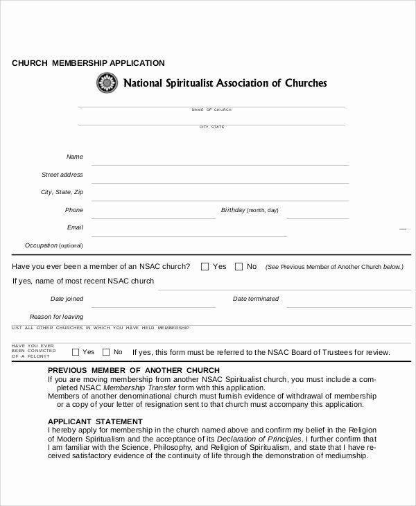 Church Membership Letter Template Beautiful 13 Sample Membership Application Letters Pdf W Printable Letter Templates Letter Templates Business Letter Template