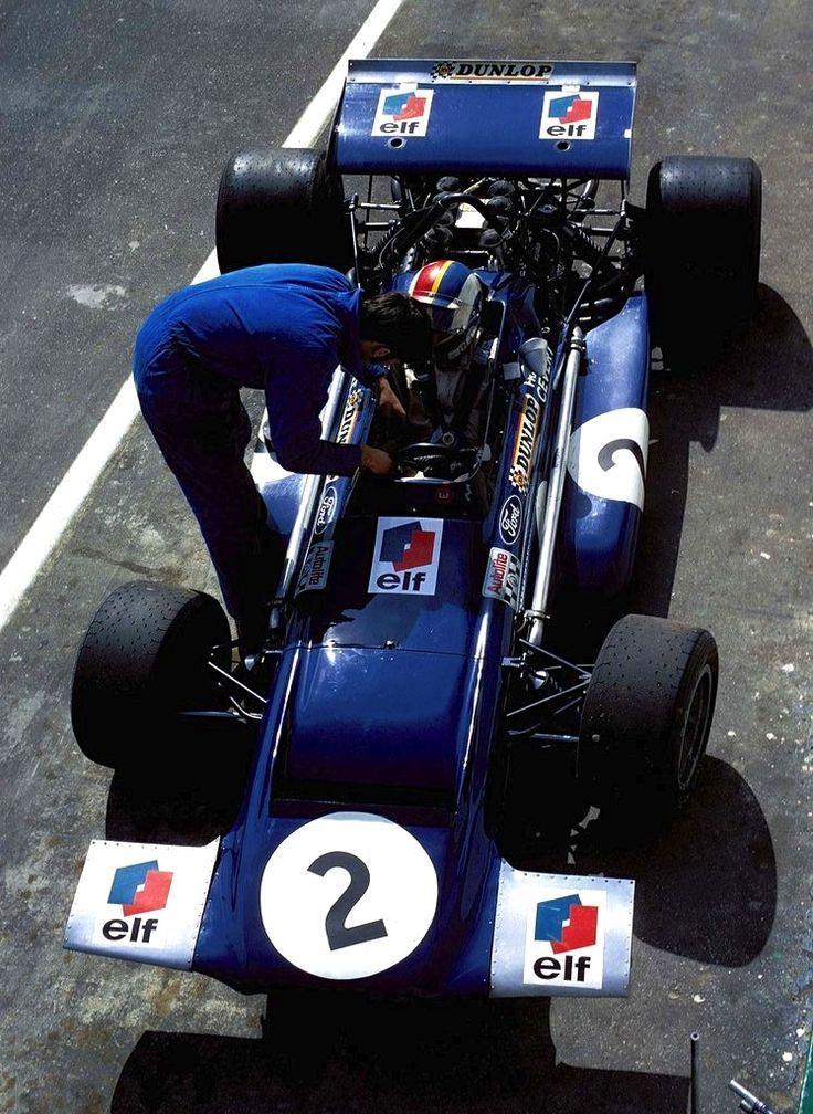 Francois Cevert Crash Photos Picture TYRRELL F1 TEAM