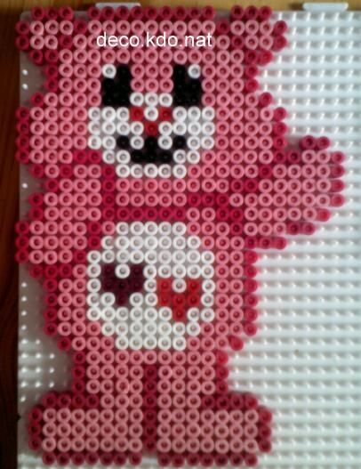 Bisounours / Care Bears hama perler by DECO.KDO.NAT