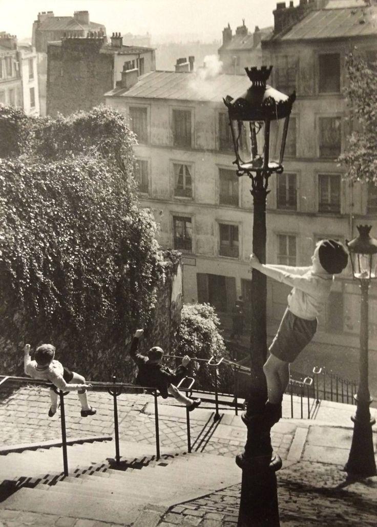 Enfants rue du Calvaire