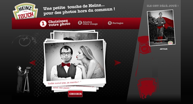 Heinz touch - http://www.groupe361.com/expertise/brand-content/#brand-content-heinz-touch
