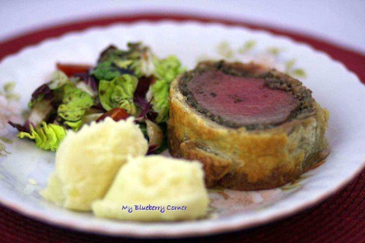 Beef Wellington - My Blueberry Corner