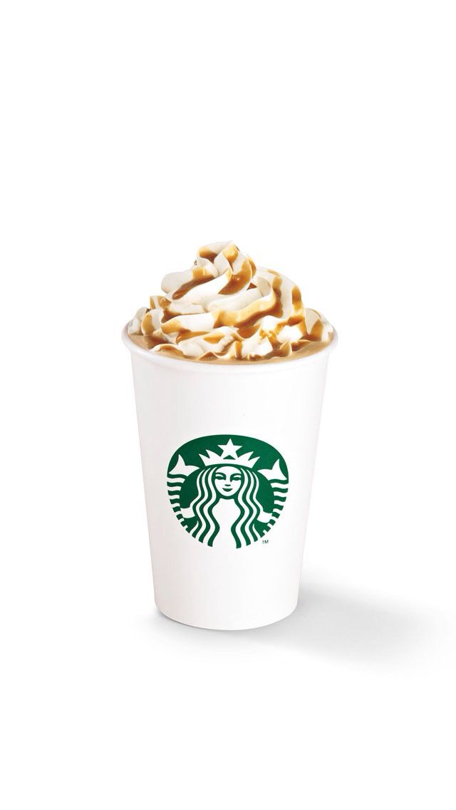 Whipped cream and Carmel are so good together don't ya think?