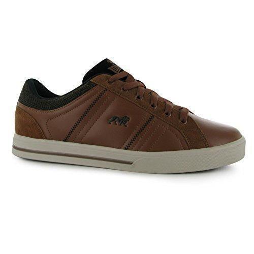 Oferta: 30.99€. Comprar Ofertas de Lonsdale Hombre Latimer Cuero Zapatillas Acolchado Zapatos Color En Contraste barato. ¡Mira las ofertas!