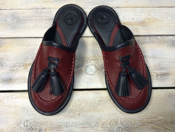 "Mens Leather Slippers, Mens Indor Slippers, Leather Sandals, Gift for Mens, ""Makasi"" by WhiteLoveU on Etsy https://www.etsy.com/listing/288912851/mens-leather-slippers-mens-indor"