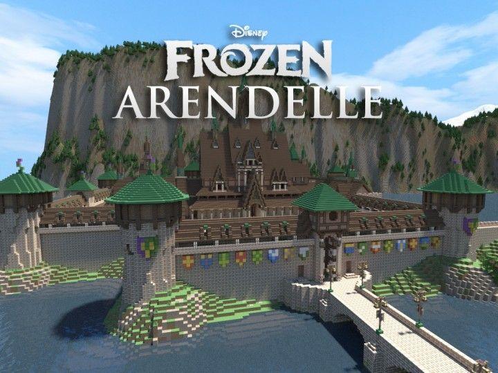 Disney's FROZEN - Arendelle [THE WHOLE FROZEN WORLD] Minecraft Project