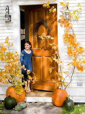 17 Best Images About Front Door Porch Fall Decor On