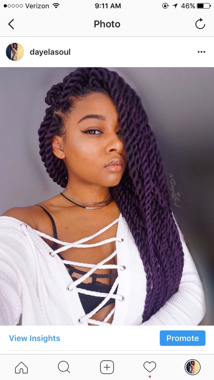 Purple rope twists, Havana twists, Marley twists  @dayelasoul