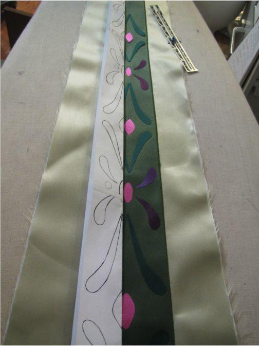 Simplicity #1215 - Anna's Coronation dress and the PLEATED skirt!