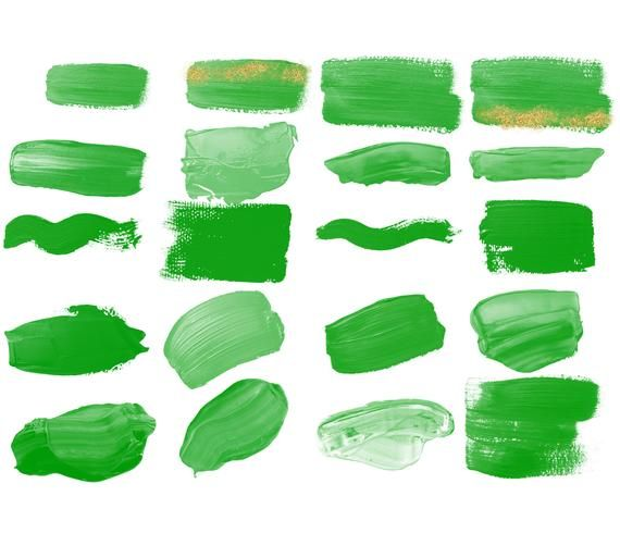 Paint Strokes Clipart Green With Gold Glitter Png Brush Stroke Planner Clipart Green Instant Downlo Fondos Acuarela Verde Color Verde