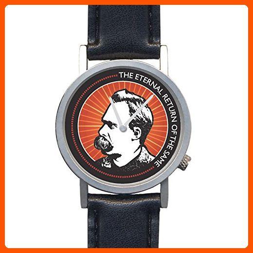 Friedrich Nietzsche Eternal Return of the Same Unisex Analog Novelty Gift Watch - Watches its about time (*Amazon Partner-Link)
