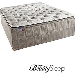 @Overstock - Sleep deeply every night on this soft king-size BeautySleep mattress that is made from high-quality foam. The traditional coil system is durable, so the mattress will last you a long time, and it comes with a sturdy foundation for your convenience.http://www.overstock.com/Home-Garden/Simmons-BeautySleep-North-Farm-Pillow-Top-King-size-Mattress-Set/5886010/product.html?CID=214117 $764.99