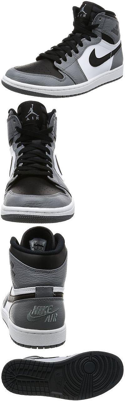 Men Shoes: Nike Men S Air Jordan 1 Retro High Cool Grey Black White Basketball Shoes 10.5 -> BUY IT NOW ONLY: $101.3 on eBay!