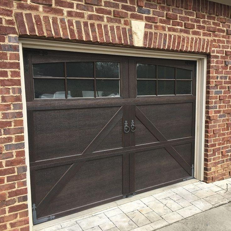 41 best carriage house steel garage doors images on for Garage door finishes