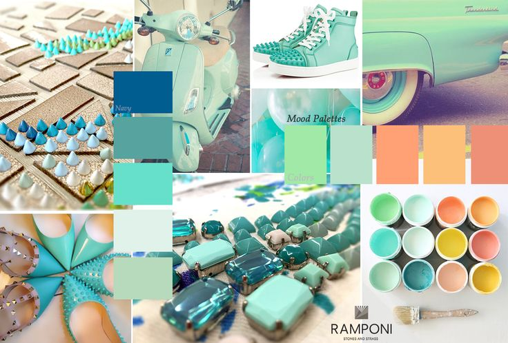 Color Tiffany, Mint Green, Limpet Shell.