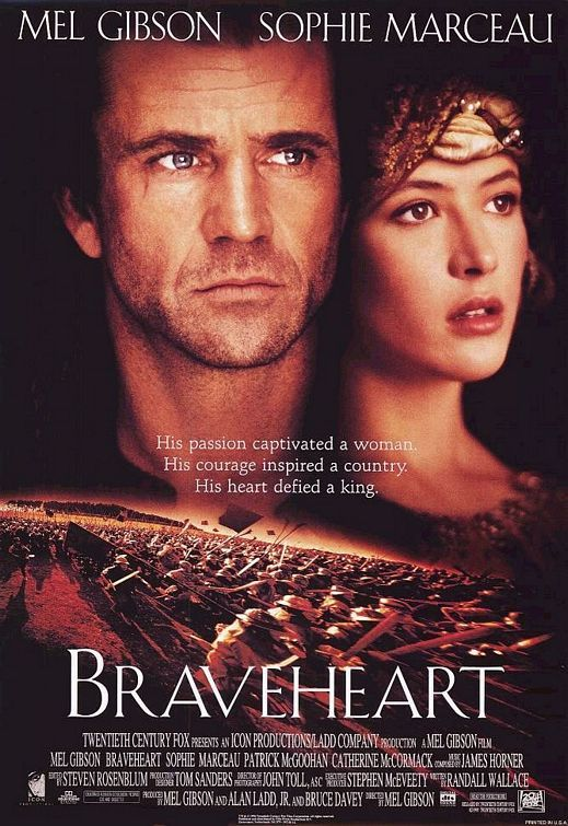 "Braveheart, just traced my children's/husbands' family directly back to William Wallace's brother John; so ""Braverheart"" was Uncle Bill!"
