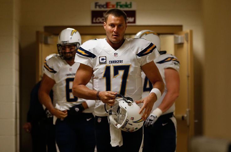 Best of NFL Week 10 - NFL: San Diego Chargers at Washington Redskins -- Nov 3, 2013; Landover, MD, USA; San Diego Chargers quarterback Philip Rivers (17) walks out of the locker room prior to the Chargers' game against the Washington Redskins at FedEx Field. The Redskins won 30--24 in overtime. (Geoff Burke-USA TODAY Sports)