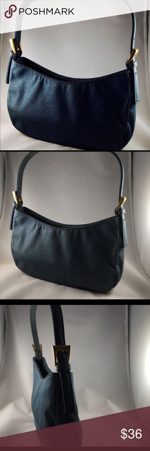 A/X Armani Exchange handbag in shinny Denim Rare A/X Armani Exchange handbag in shinny Denim. Great condition. No trades A/X Armani Exchange Bags Mini Bags