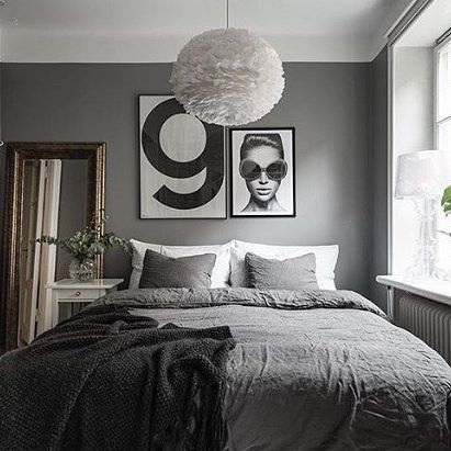 Love this gorgeous bedroom via @storkholmphotography . #bedroom #bedroomdecor #nordichome #nordicinspiration