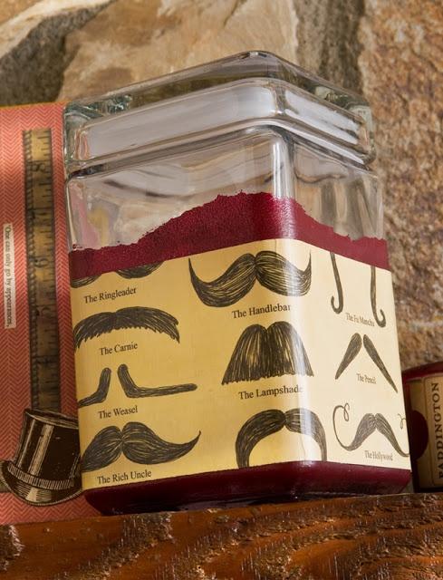fashion city: DIY: Desktop Candy Jar for The Manly Man (valentine craft)