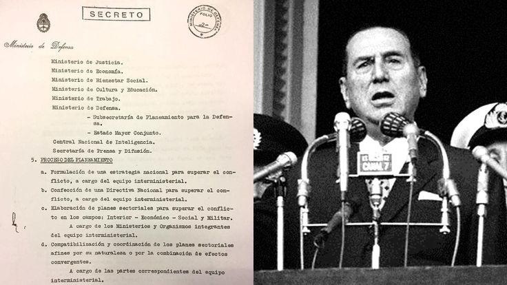 Fechado en abril de 1974 y desclasificado hoy por el gobierno junto a otro de Isabel Martínez, en él se habla de