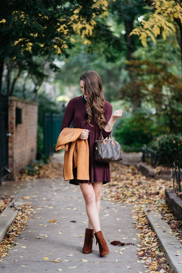 Autumn Casual + My Favorite Leather Jacket