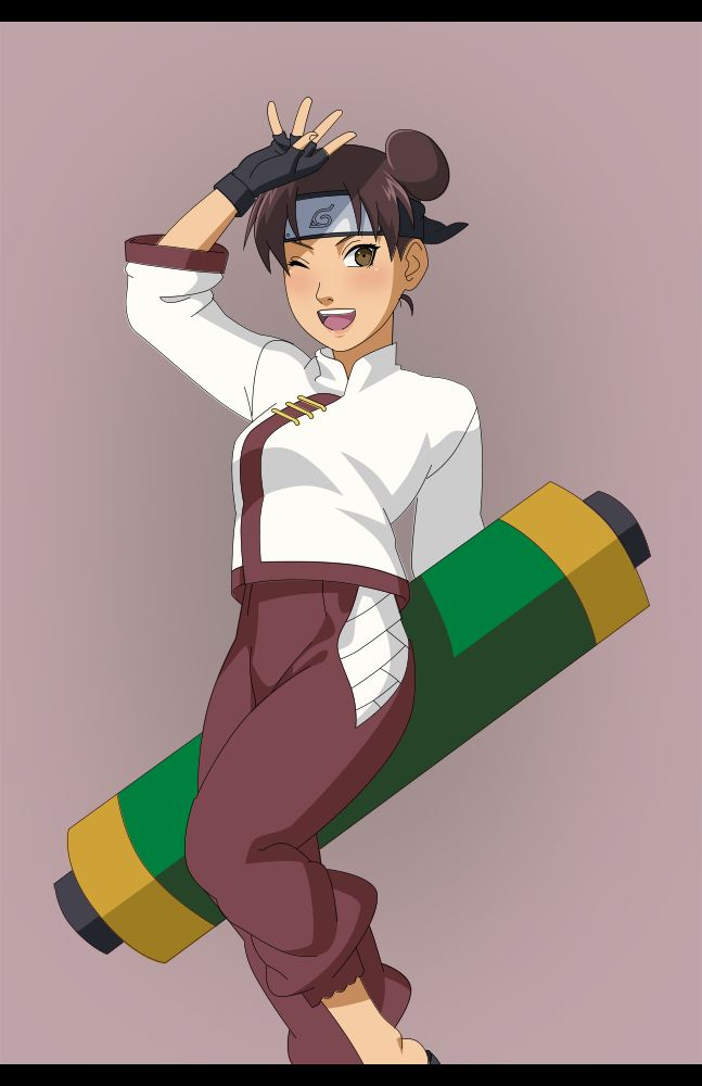 Tenten by Mockingbyrd | Naruto shippuden anime, Anime ...