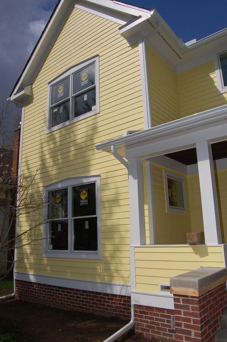 Colonial House Exterior Brick Front Porches
