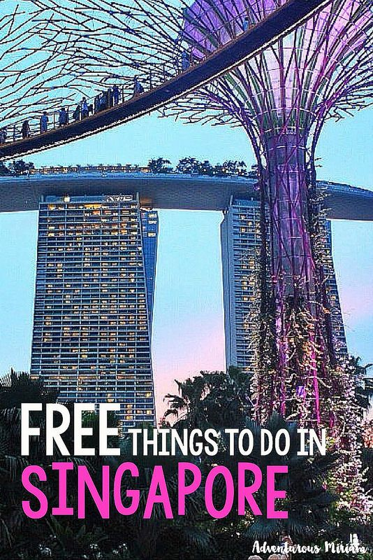 Singapore is the most expensive country in Southeast Asia. Here's a list of all the free things to do there.