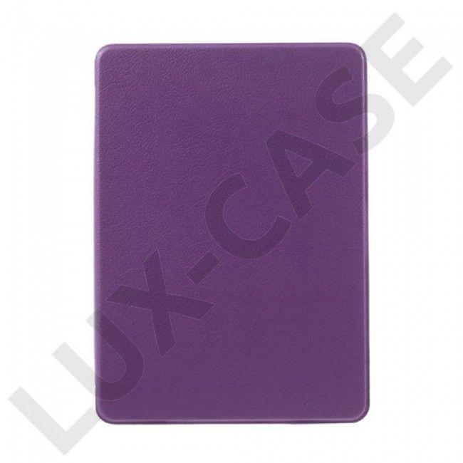 Litchi Amazon Kindle Paperwhite 3/2/1 Flippetui av lær - Lilla - GRATIS FRAKT!