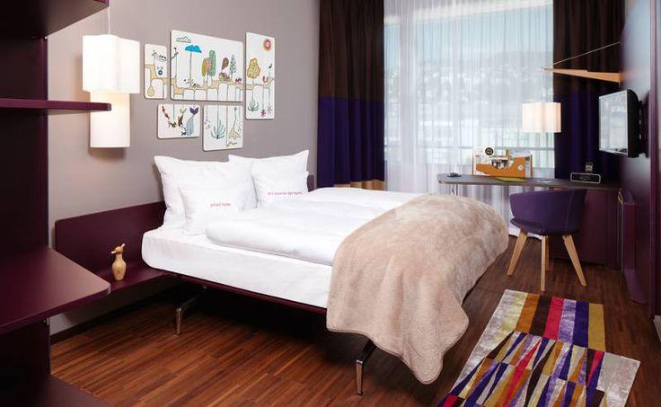25hours Hotel Zurich West by Alfredo Häberli