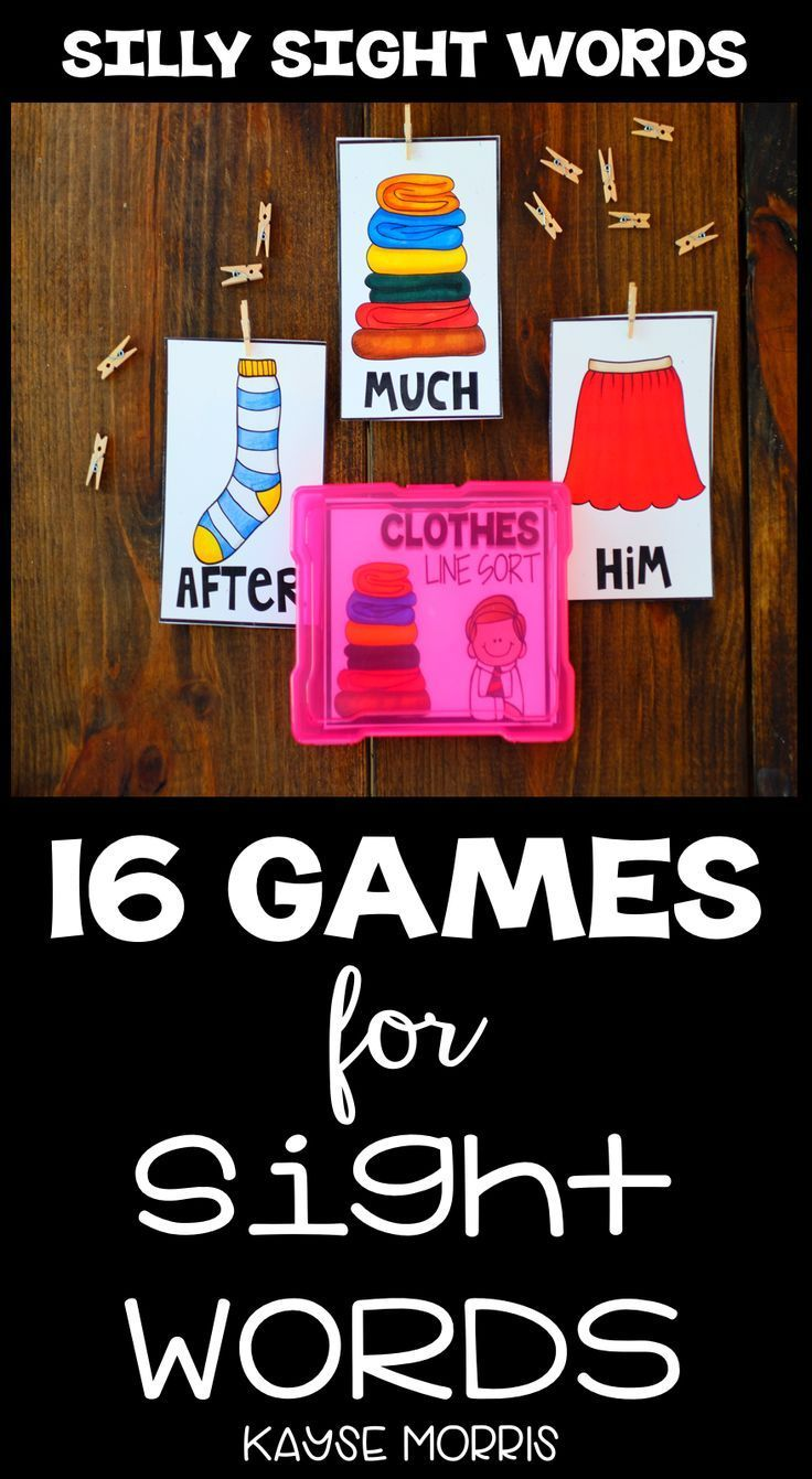 Teaching sight words to kindergarteners and 1st graders with this bundle of games and activities is so EASY! You and your students will practice Fry sight words with the help of these games and activities. Everything is better in a bundle, so you can work with students learning at various levels! Click through to get more details about this resource!