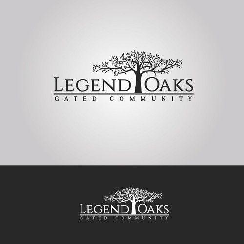 Legend Oaks Looking For A Creative Logo Design For Apartment Enchanting Apartment Complex Design Ideas Creative