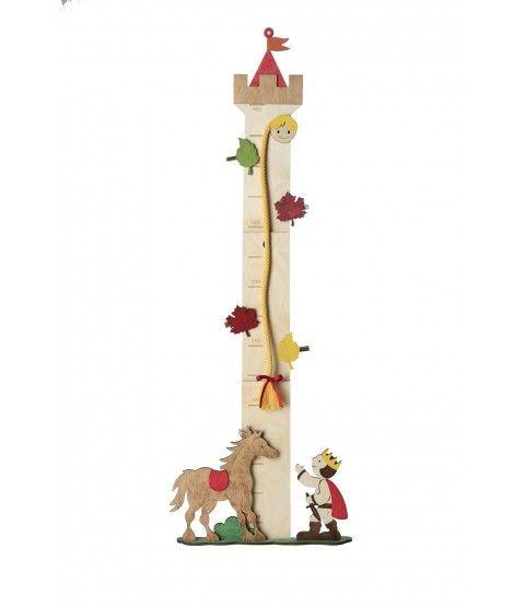 Olli Olbot 35270 Messlatte Rapunzel 80-150cm Messen Kinder Wachstumsmesser Dekoration  - 2-flowerpower