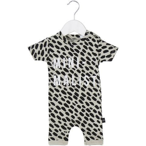 Mini-malist Big Cat Short Romper