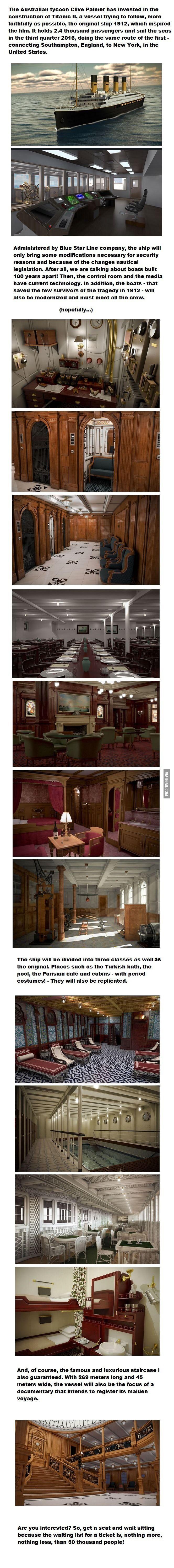 Titanic 2?